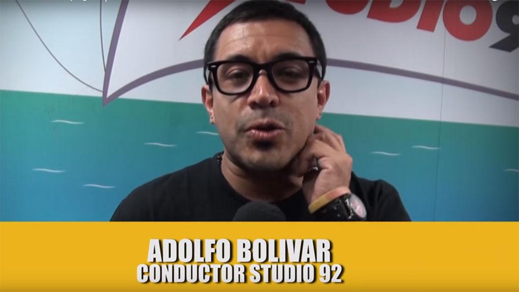 Adolfo Bolívar nos hace una pregunta.