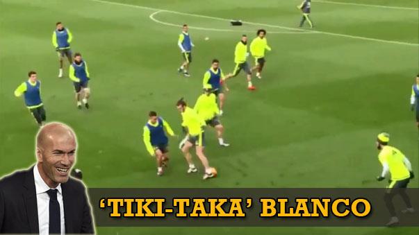 Así toca el Real Madrid de Zinedine Zidane