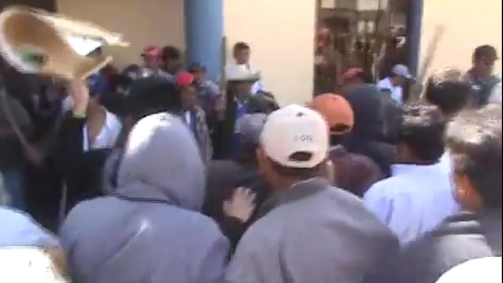 Enfrentamiento en Cutervo
