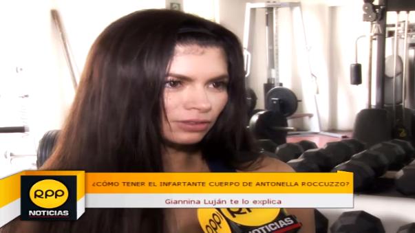Giannina Luján.