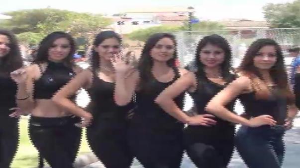 Candidatas a Reinas Carnaval 2016.