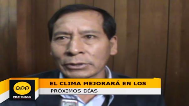 El efe del Senamhi - Cusco señaló que las condiciones climatológicas de la región.