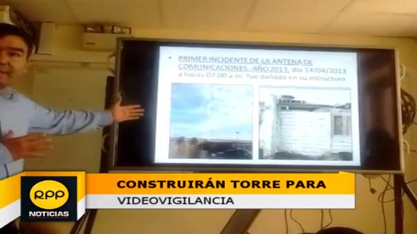 Gerente de Informática, Hernan Niño, explicó las deficiencias de la torre anterior.