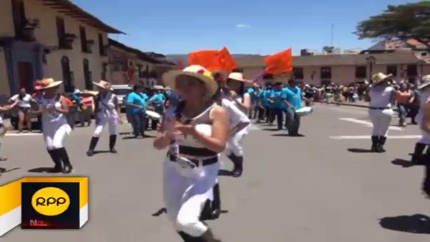 Se iniciaron carnavales en Cajamarca.