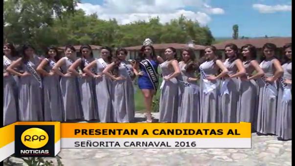 Reinas Carnaval 2016