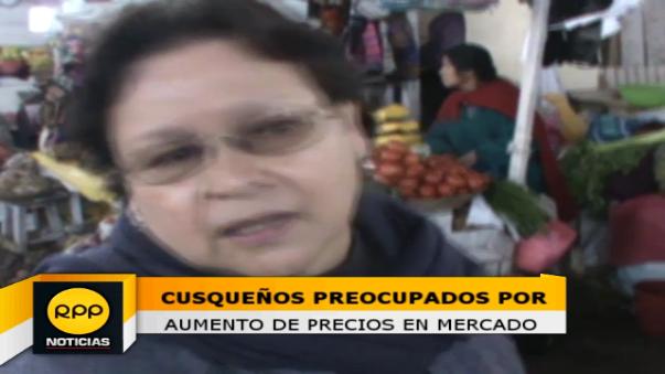 Sondeo se realizó a madres de familia que llegaron al mercado de abastos del Cusco, llamado San Pedro.