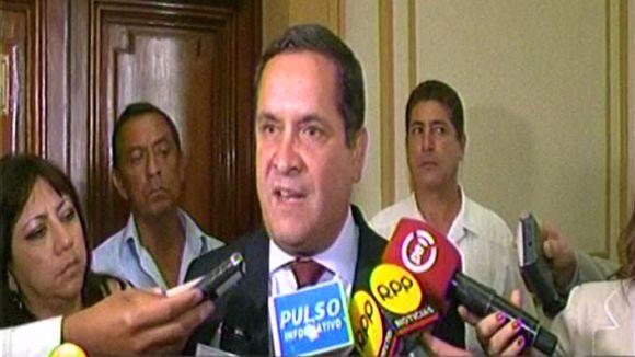 Iberico comentó la propuesta lanzada por Alan García.