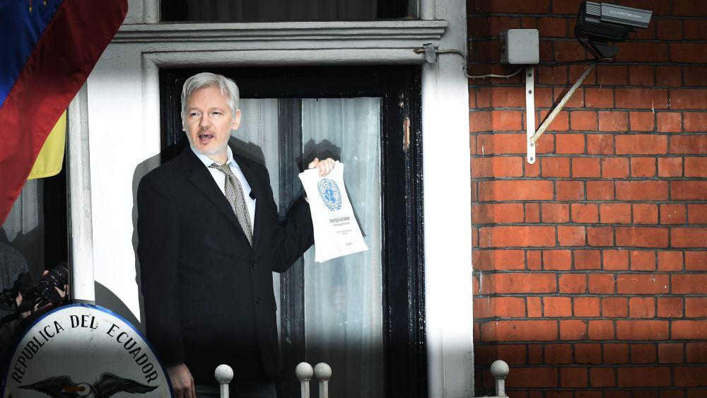El grupo de trabajo de la ONU consideró este viernes que la detención de Assange es