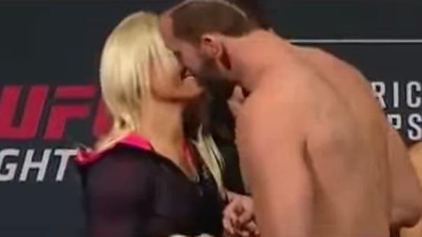 UFC Alex Nicholson propone matrimonio.