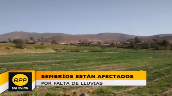 Hay más de 9 mil agricultores afectados