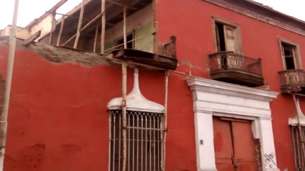 Los templos antiguos ubicados en el centro histórico corren el riesgo de colapsar por las lluvias.