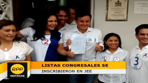 Hasta hoy, el Jurado Electoral Especial de Trujillo esperará la inscripción de candidatos al Congreso de la República.