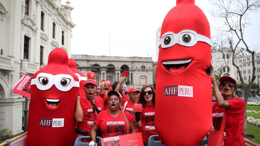 La actividad comenzó ayer en la Plaza San Martín, en el centro histórico de Lima.