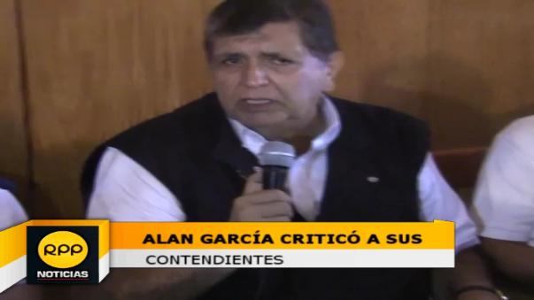 Candidato no teme que Julio Guzmán, le siga quitando votos en los próximos días.
