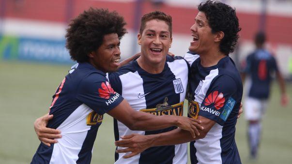 Alianza Lima goleó a Unión Comercio en Moyobamba
