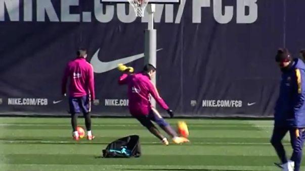 El fail en la canasta de Lionel Messi