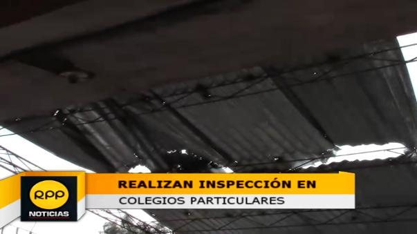 Inspectores hallaron que las calaminas amenazan con caerse, las conexiones están expuestas y falta señalética.