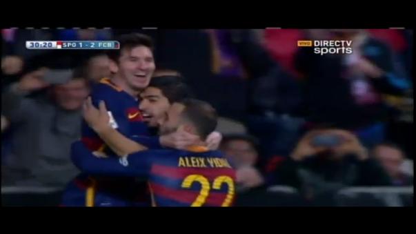 El gol récord de Lionel Messi
