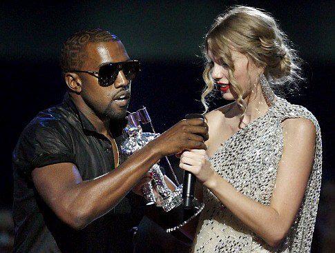 Kanye West fue grabado insultando a Taylor Swift
