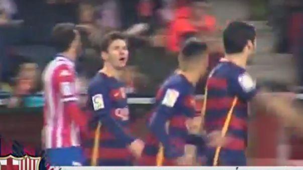 El video que prueba Messi quiere hacer goleador a Suárez