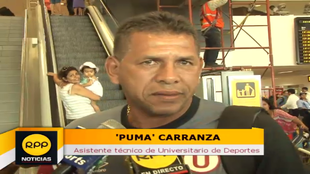 El 'Puma' Carranza habló de Raúl Ruidíaz.