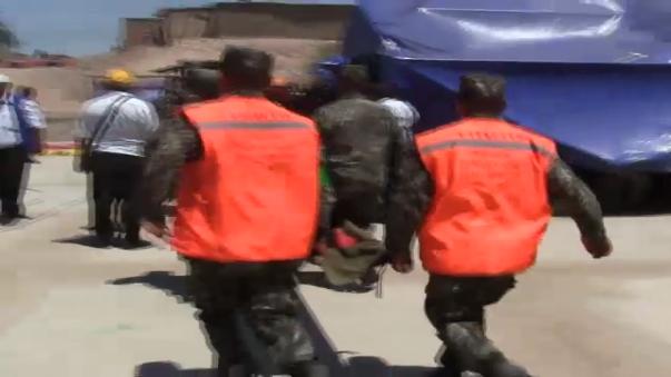 Brigadistas rescataron a las víctimas