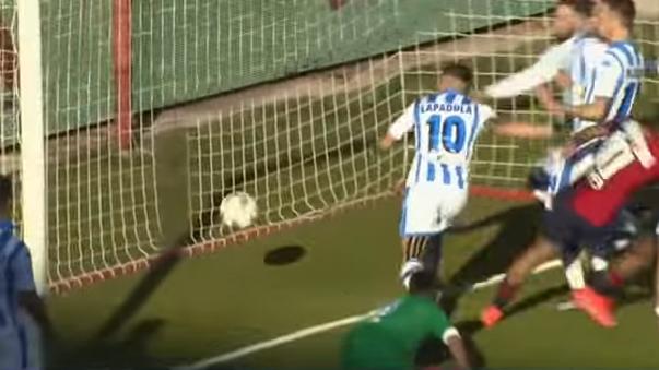 Gianluca Lapadula anotó un autogol en la derrota del Pescara