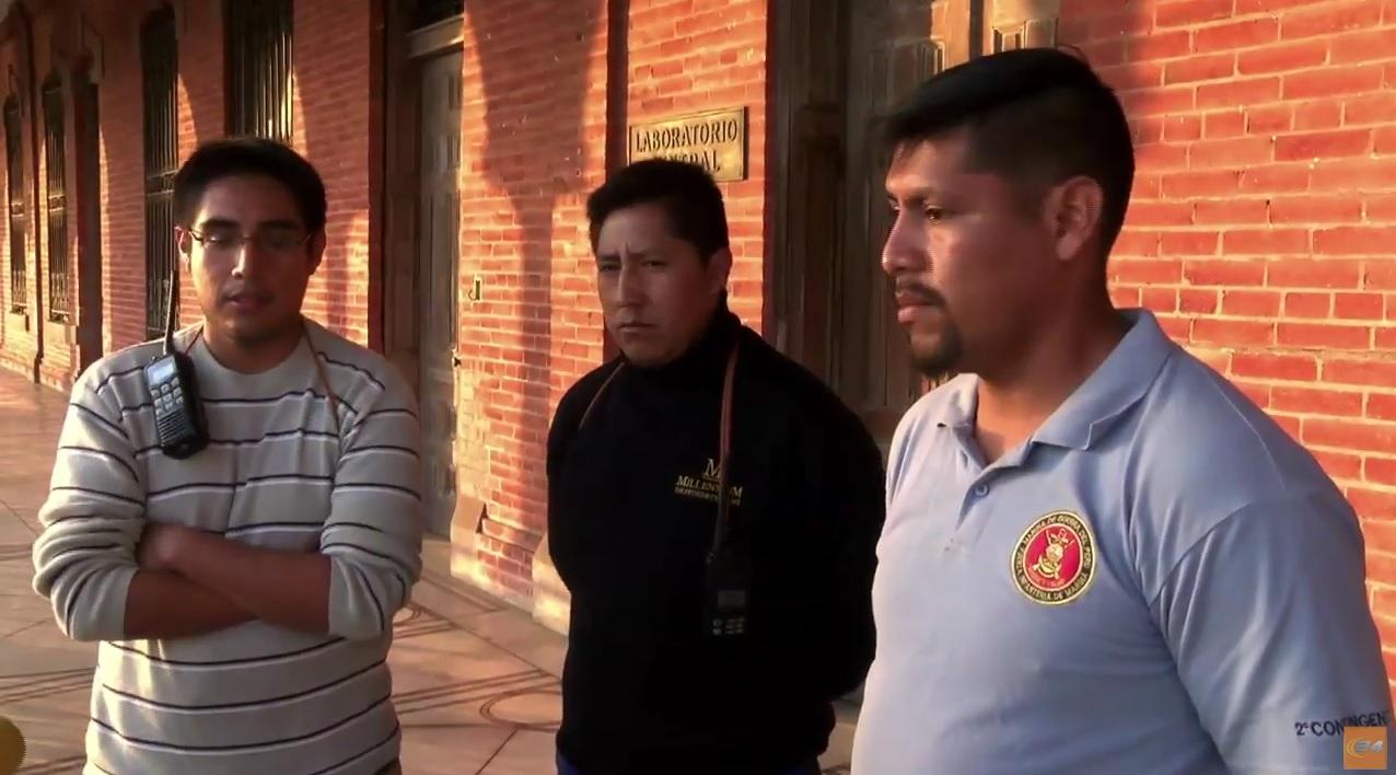La tripulación peruana exigen el pago de sus sueldos y repatriación.