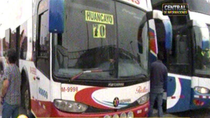 Los pasajes a Huancayo se ofrecen a 70 soles, cuando el precio habitual fluctúa entre los 20 y 30 soles.