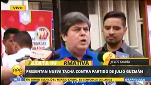 Carlos Torres Caro postula al Parlamento por el partido Orden.
