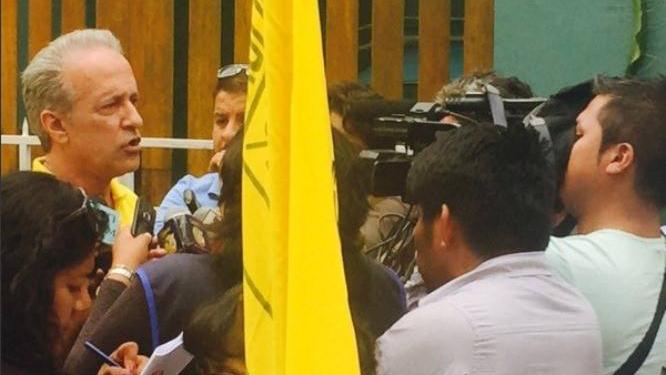 Guerra García dijo que las marchas pacíficas contra el fallo que favorece a Guzmán se iniciarán el lunes 29 de febrero.