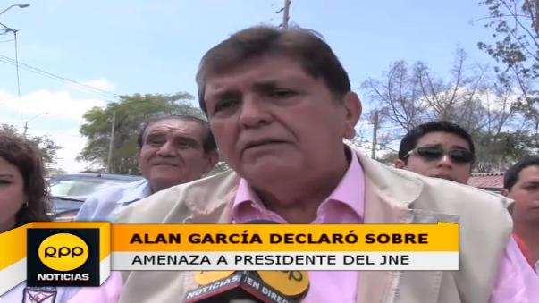 Candidato de Alianza Popular, Alan García, recorre Piura cuya visita culminará en la provincia de Talara.