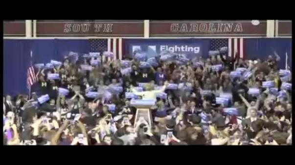 Clinton logró un abrumador apoyo en Carolina del Sur.