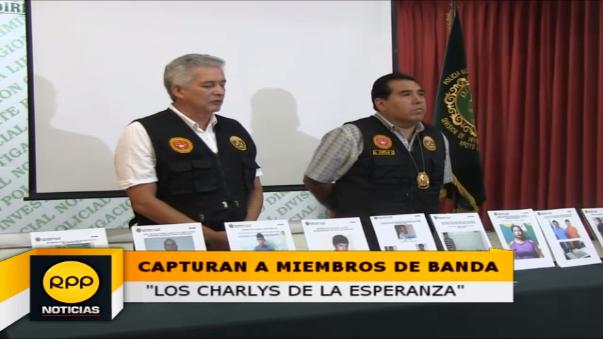 """Caen tres miembros de la banda """"Los Charlys de la Esperanza"""""""