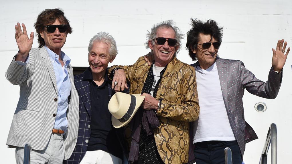 La banda británica The Rolling Stones ya se encuentra en Lima y la PNP la acompañará en su estancia en nuestro país.