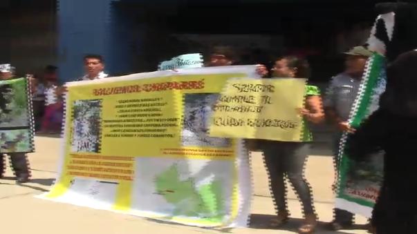 Comuneros exigen intervención de autoridades