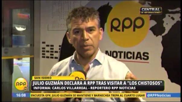 El candidato encabezará una marcha pacífica el día de hoy a partir de las 18 horas y un mitin en la plaza San Martín (Cercado de Lima).