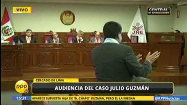 Audiencia pública de caso Todos por el Perú