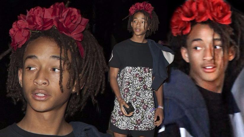 Jaden Smith usa ropa de mujer y se convierte en ícono de la moda