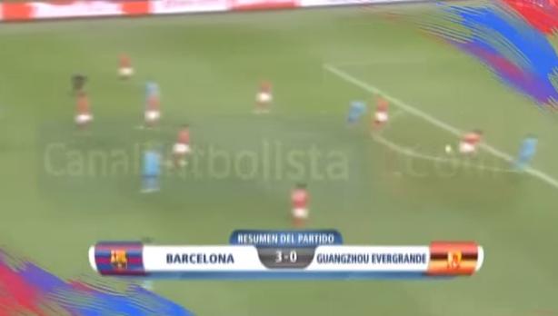 Barcelona 3-0 Guangzhou Evergrande