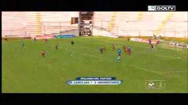 Resumen del Real Garcilaso 1-0 Universitario de Deportes.