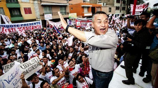 Candidato del Partido Nacionalista.