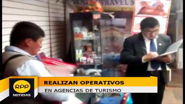 Operativo en agencias de turismo.
