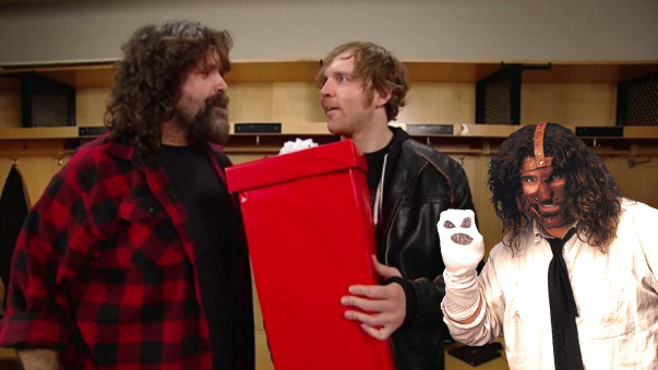 ¿Qué le regaló Mick Foley a Dean Ambrose? Mira el video