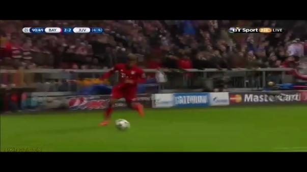 El pase gol de Kingsley Coman que salvó al Bayern Munich