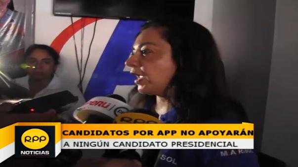 Alianza para el Progreso asegura que no apoyarán a ningún candidato presidencial y coordinador regional incentiva a que vicien su voto en la columna de presidentes.
