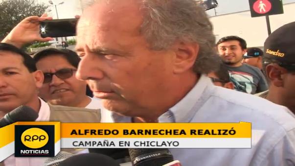 Alfredo Barnechea también la recomendó a Verónica Mendoza, revisar su plan de gobierno.
