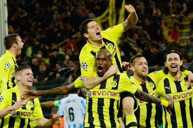 Borussia Dortmund 3-2 Málaga (2013)