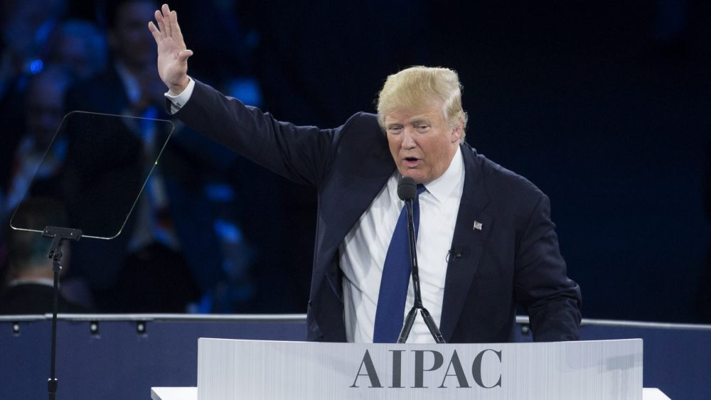 Donald Trump dijo que si llega a la Casa Blanca trasladará la embajada estadounidense de Tel Aviv a Jerusalén.