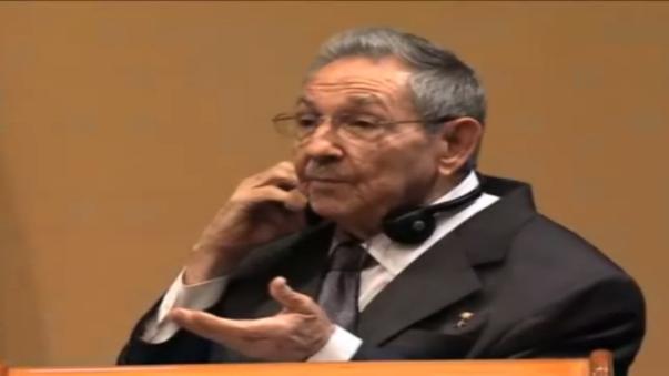 Raúl Castro negó la existencia de presos políticos en Cuba